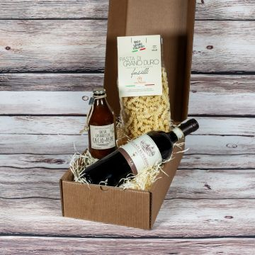 Geschenkbox: Dinner for Two